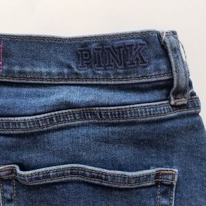 PINK Victoria's Secret Shorts - VS Pink Sz 10 Distressed Denim Shorts